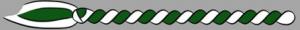 12. Corda - dunkelgrün/weiss