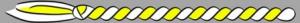 13. Corda - gelb/weiss