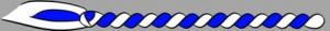 14. Corda - blau/weiss