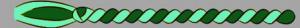 2. Corda - hellgrün / dunkelgrün