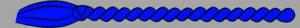 8. Corda - blau